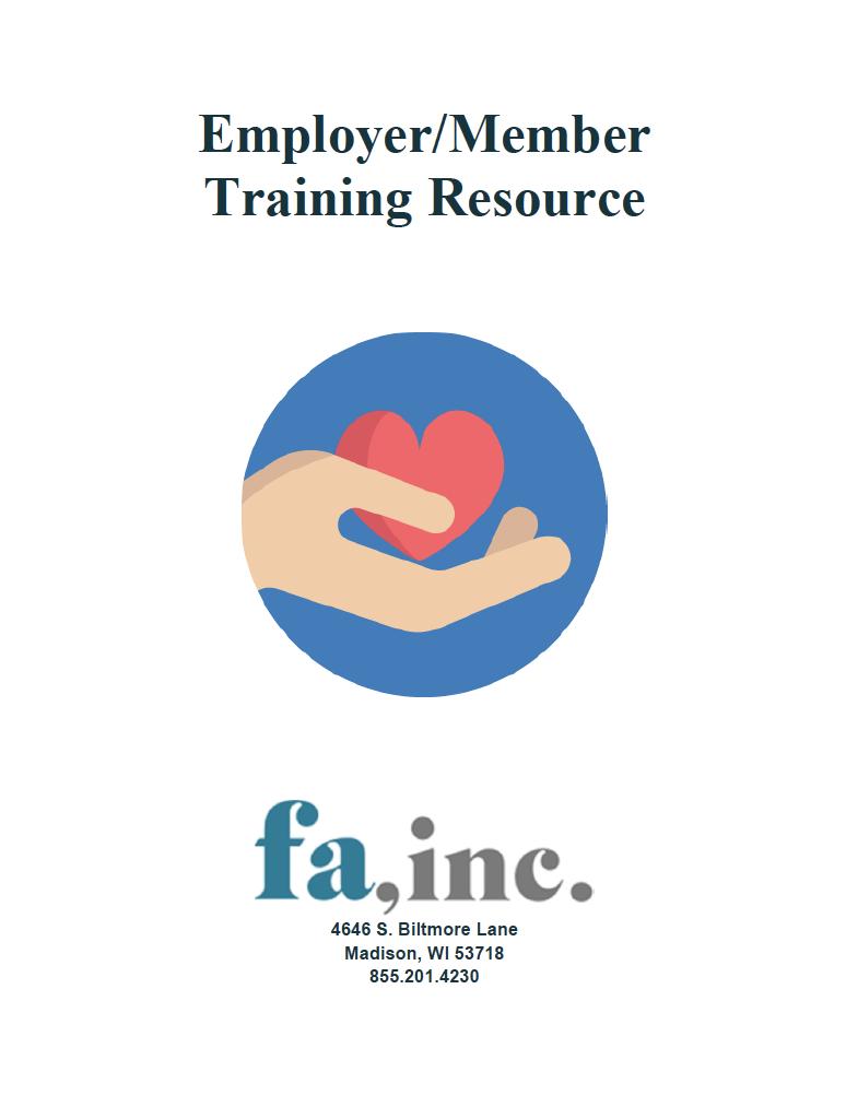 Employer/Member Training Resource